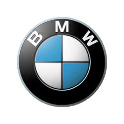 BMW North America logo in black and white.
